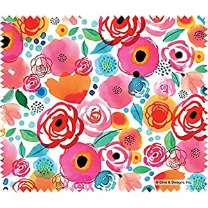 Microfiber Cleaning Cloth for Lenses - Roses & Poppies