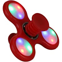 TOYLAND Spinnerooz Red Light Up Hand Spinner Juguete