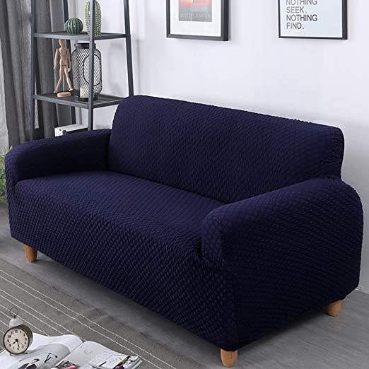 1-4 Seats Universal Slipcovers Stretch Sofa Cover All-inclusive Couch Protector