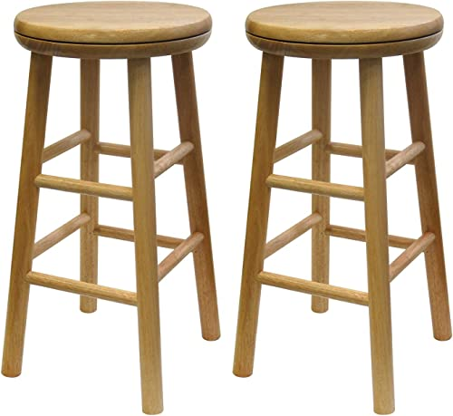 Winsome Oakley Stool, 24 , Natural