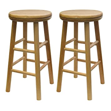 Superb Winsome Oakley Stool 24 Natural Caraccident5 Cool Chair Designs And Ideas Caraccident5Info