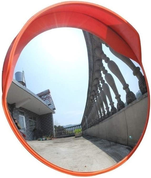 プールの安全ミラー トラフィックミラー、道路安全凸安全ミラー45-120CMのために使用される様々な道路に適した飛散防止プラスチック広角レンズ ミラー保護フィルム付き (Color : 120CM)