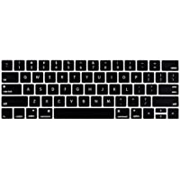 LENTION Silicone Keyboard Cover Skin Compatible 2019-2016 MacBook Pro (13, 15-Inch, with Touch Bar) - Model A2159, A1990…
