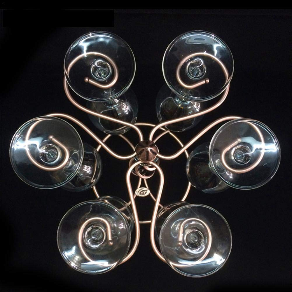 Soporte para Copas de Vino Tinto con Forma de Rosca para Colgar en Barras Estilo Europeo Rejoicing
