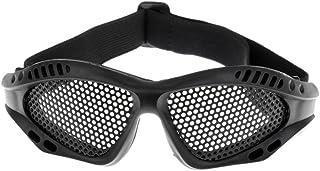 B Blesiya Tactical No Fog Wire Mesh Goggle Regolabile Occhiali Protettivi Eye Protect