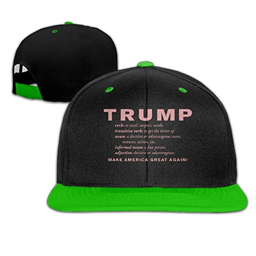 amazon com lqqwy hip hop baseball cap definition make america great