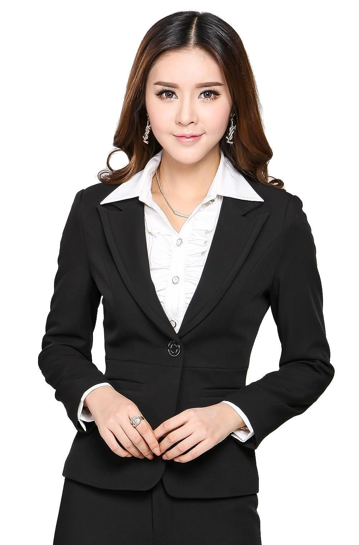 职业装品牌推荐_女士西装款式-正装上下颜色不一样_女士的西装_女生穿正装配 ...