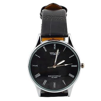Armbanduhr römische zahlen  klassische Herren Armbanduhr, römische Zahlen Ziffernblatt schwarz ...