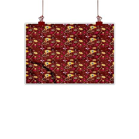 4ce261bc794 Amazon.com  Mangooly Decorative Art Print Retro