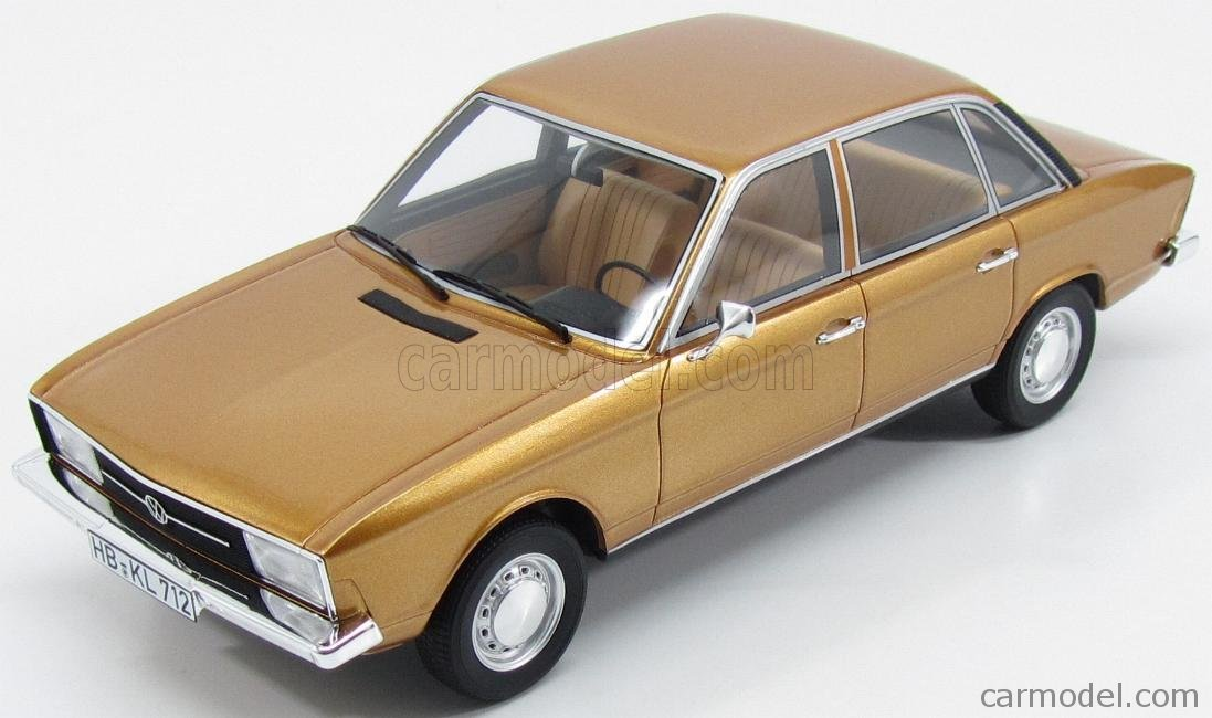 フォルクスワーゲン K70 1970 ミニカー 1/18 BoS-MODELS VOLKSWAGEN K70 1970 GOLD MET BOS148 B075R9YWM3