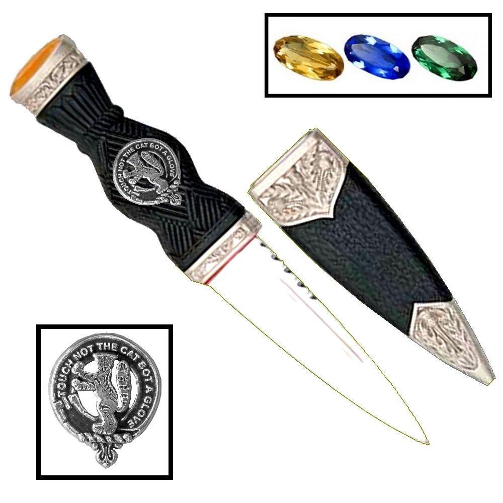 Scottish Clan Crest Sgian Dubh ~ MacIntosh