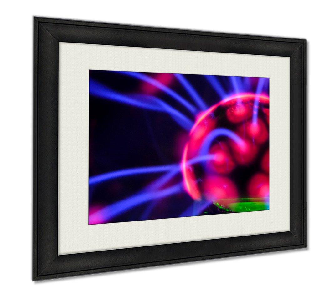 Ashley Framed Prints Tesla Sphere, Wall Art Home Decoration, Color, 26x30 (frame size), AG6021205