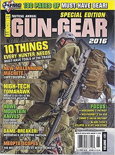 American Handgunner Tactical Gun-Gear 2016 Special Edition