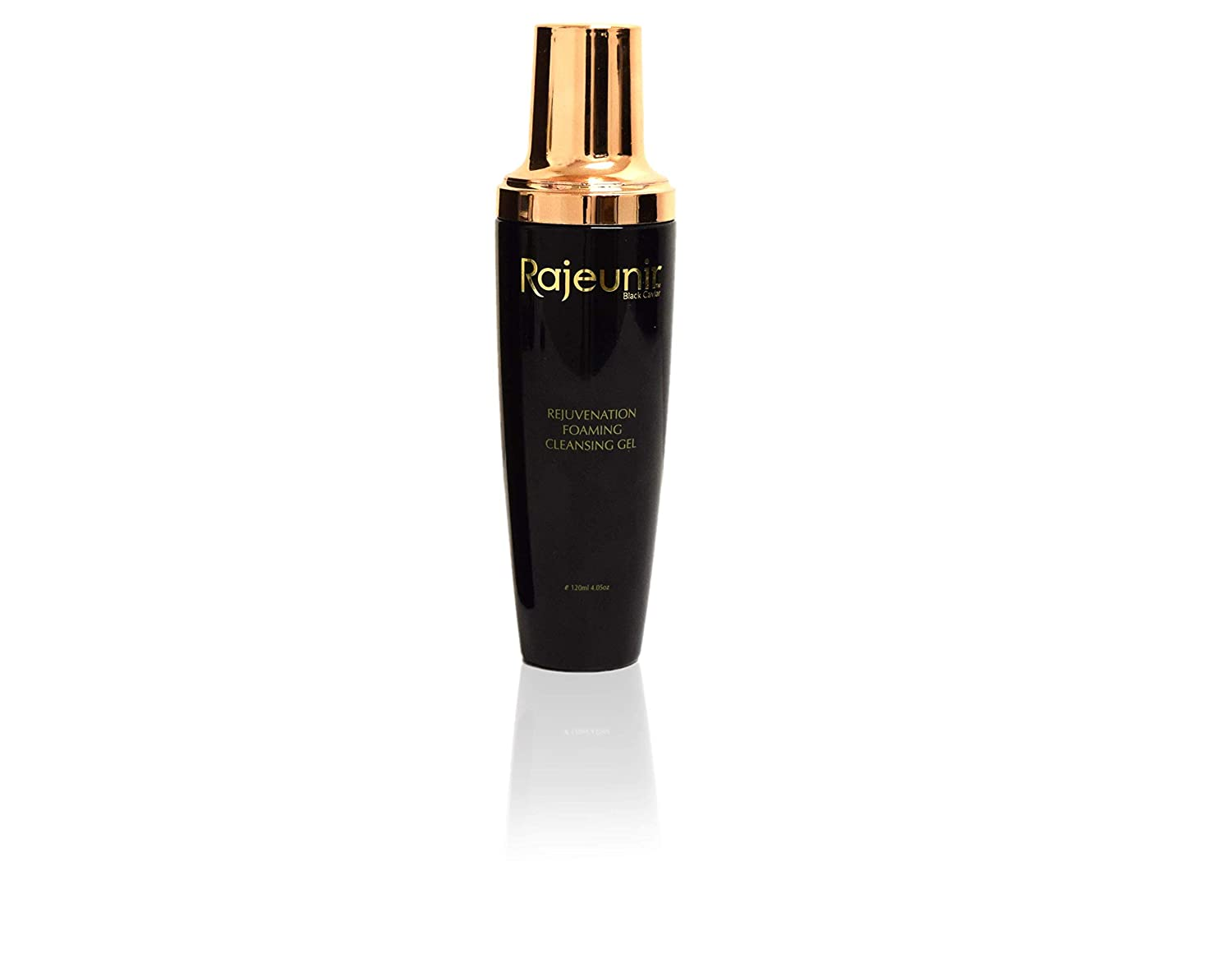 Rajeunir Black Caviar Rejuvenation Foaming Cleansing Gel Purifies The Skin By Lifting and Removing Makeup, Oil-Based Debris and Impurities