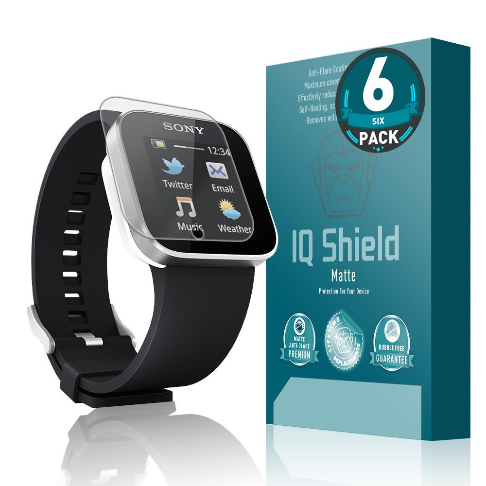 Amazon.com: Sony Smartwatch Screen Protector, IQ Shield ...