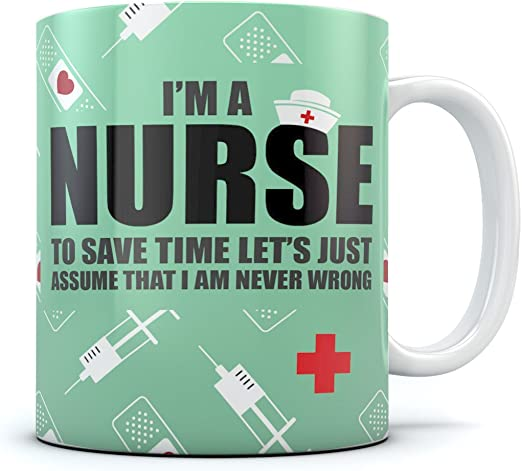 I/'m A Nurse To Save Time Just Assume I/'m Always Right Hoodie Xmas Gift Idea