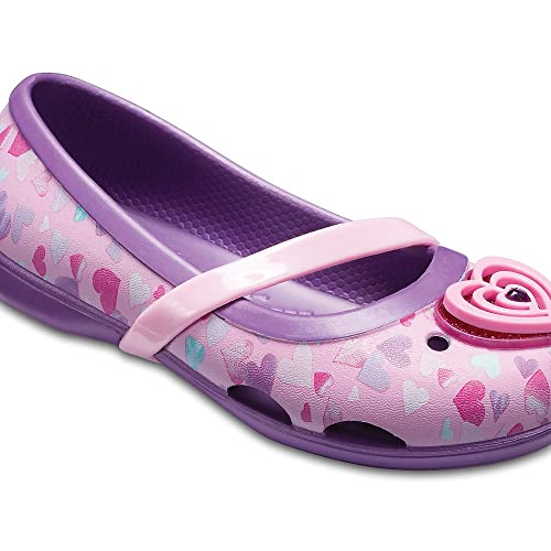 a1bea46ec crocs Girl s Purple Ballet Flats-J1 (205040-57H)  Buy Online at Low ...