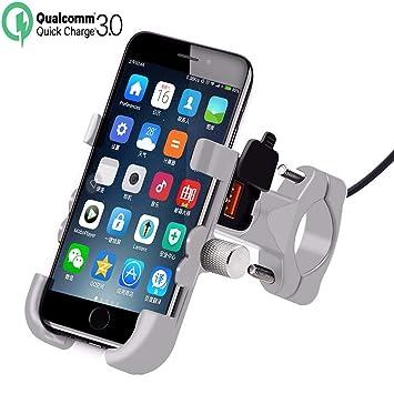 Jamicy® Soporte de teléfono móvil para Bicicleta de Aluminio ...