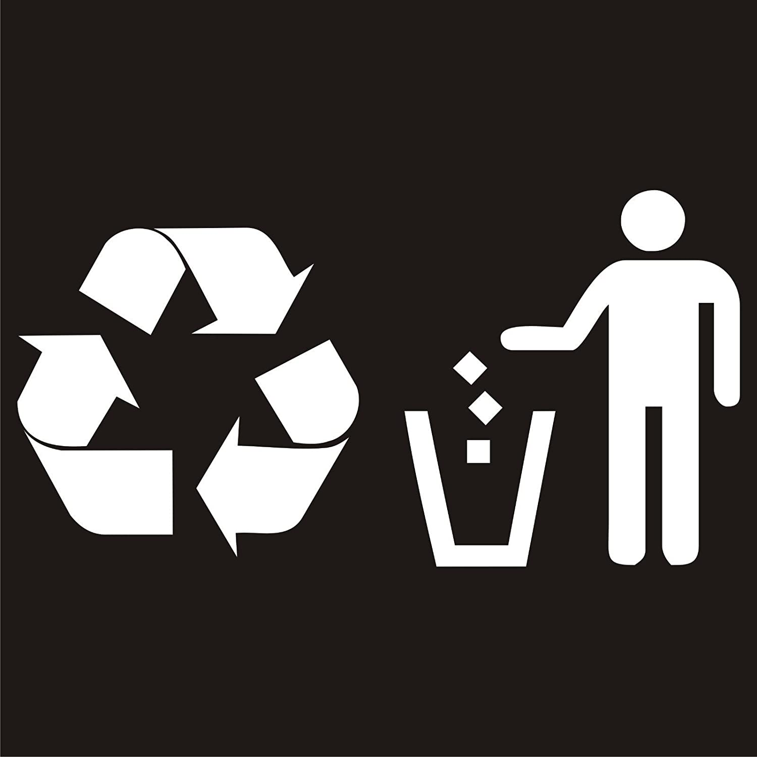 Trash Bag Outline Icon Li Style Sign For Mobile And Design Recycling