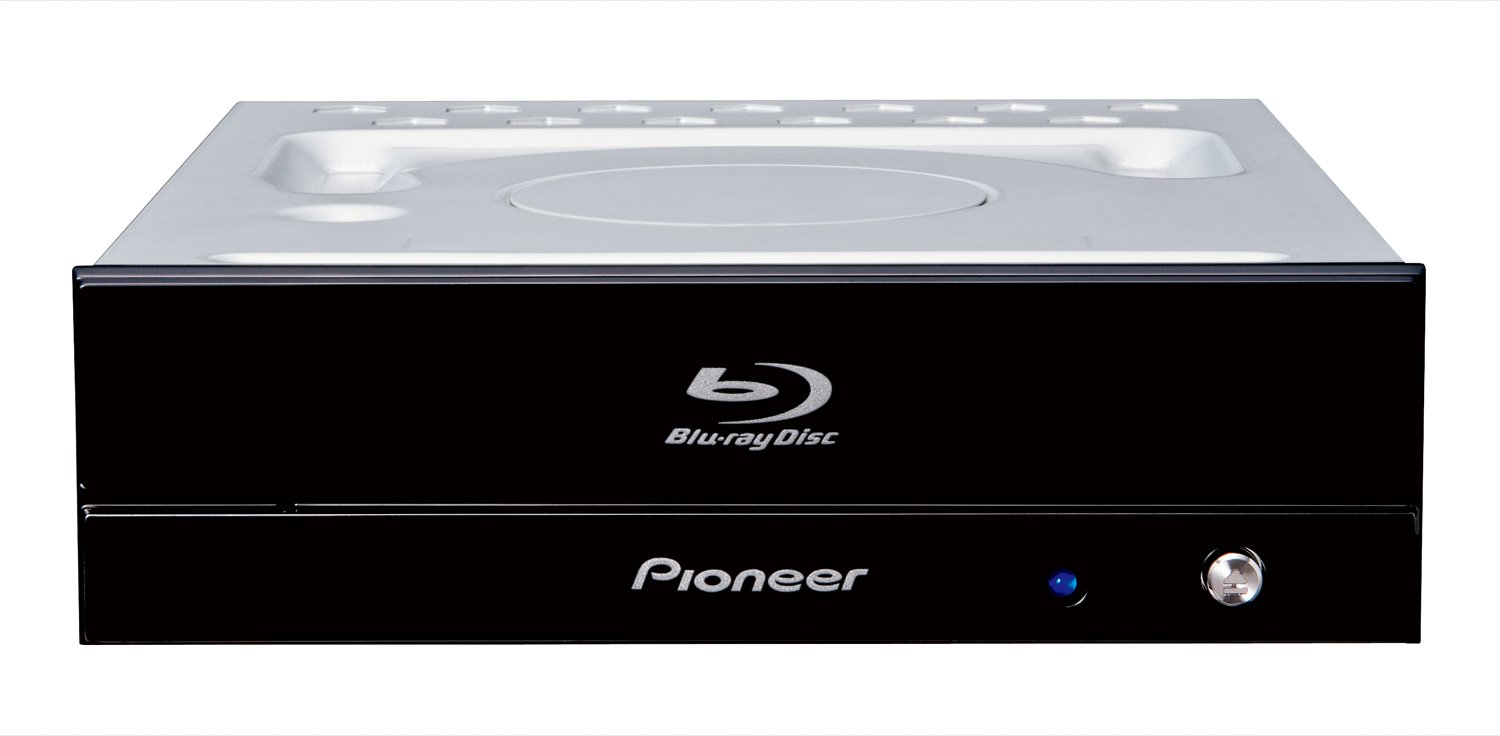 BDR-S11J-BK Pioneer Ultra HD Blu-ray Burner 4K Bluray internal drive BD/DVD/CD by Pioneer Japan