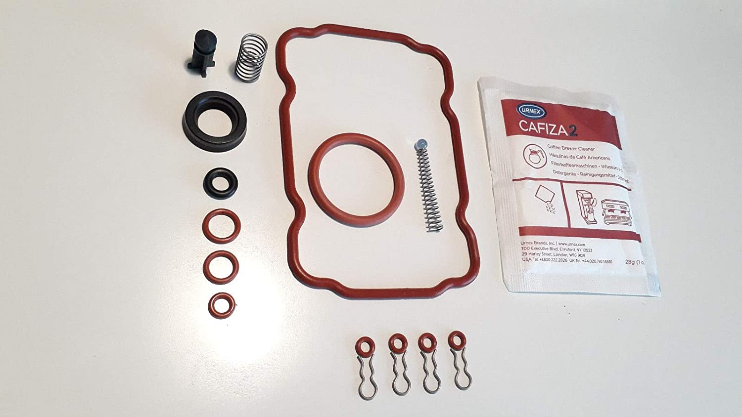 Amazon.com: Saeco parts set - Full Repair Kit for Vienna include Cafiza Urnex descaler: Kitchen & Dining