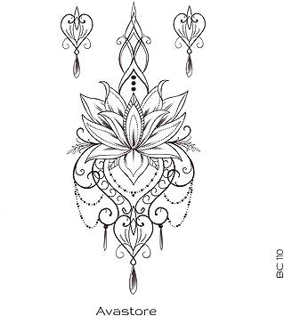 Tatouage Temporaire Femme Fleur De Lotus A L Orientale Tatouage Ephemere Pour Femme Fleur De Lotus A L Orientale Avastore Amazon Fr Beaute Et Parfum