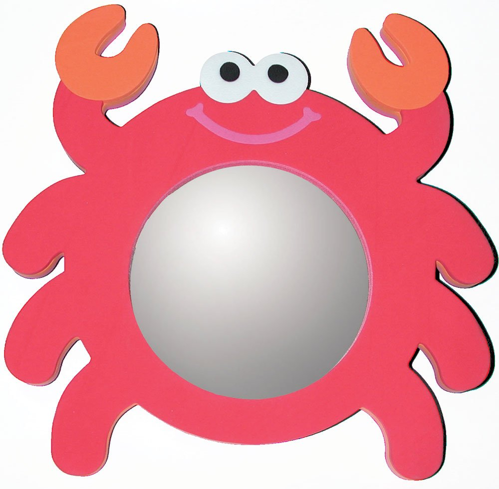 Edushape Magic Mirror Crab Bath Toy Halilit 526005 Bathtime Infant