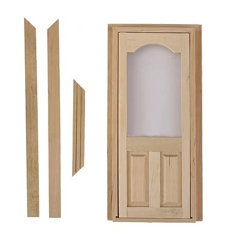 Amazon 112 Arched Top 2 Panel Interior Door Dolls House
