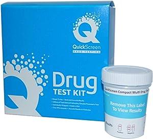 Phamatech Quickscreen Compact 12 Count Drug Testing Kit - 4 Pack