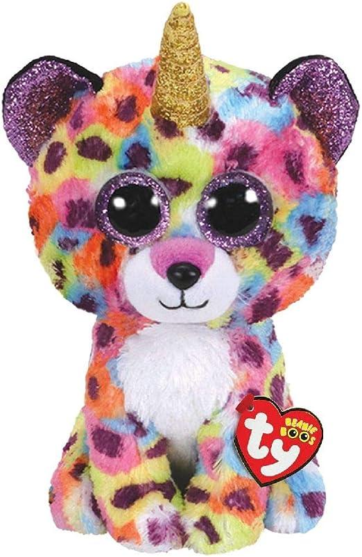 Ty Beanie Boos - Peluche de Giselle el Leopardo: Amazon.es: Juguetes y juegos