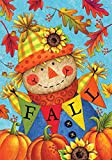 Custom Decor Fall Scarecrow – Standard Size, Decorative Double Sided, Licensed and Copyrighted Flag – Printed in the USA by Inc. – 28 Inch X 40 Inch approx. size Review