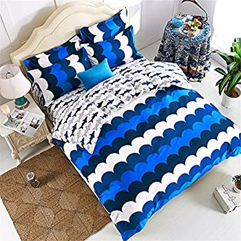 Amazon.com: EsyDream Home Bedding,Ocean Shark Design Kids