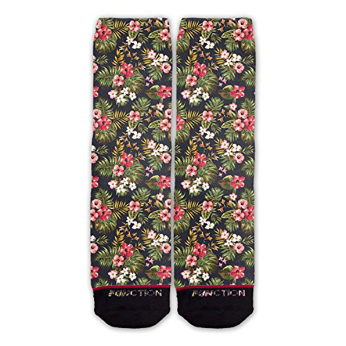 Function - Floral Pattern Fashion Fashion Socks