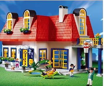 PLAYMOBIL® 3965 - Einfamilienhaus: Amazon.de: Spielzeug