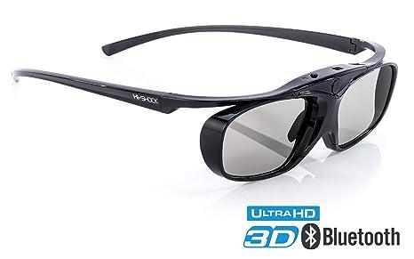 8bf5d135df89e Amazon.com  Hi-SHOCK RF Pro Black Heaven   3D Active Glasses for ...