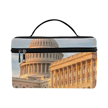 Amazon com: View Of The Us Capitol Building At Dusk Pattern