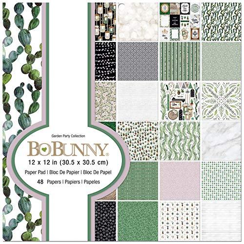 (Bo Bunny 7310518 Garden Party Paper Multi)