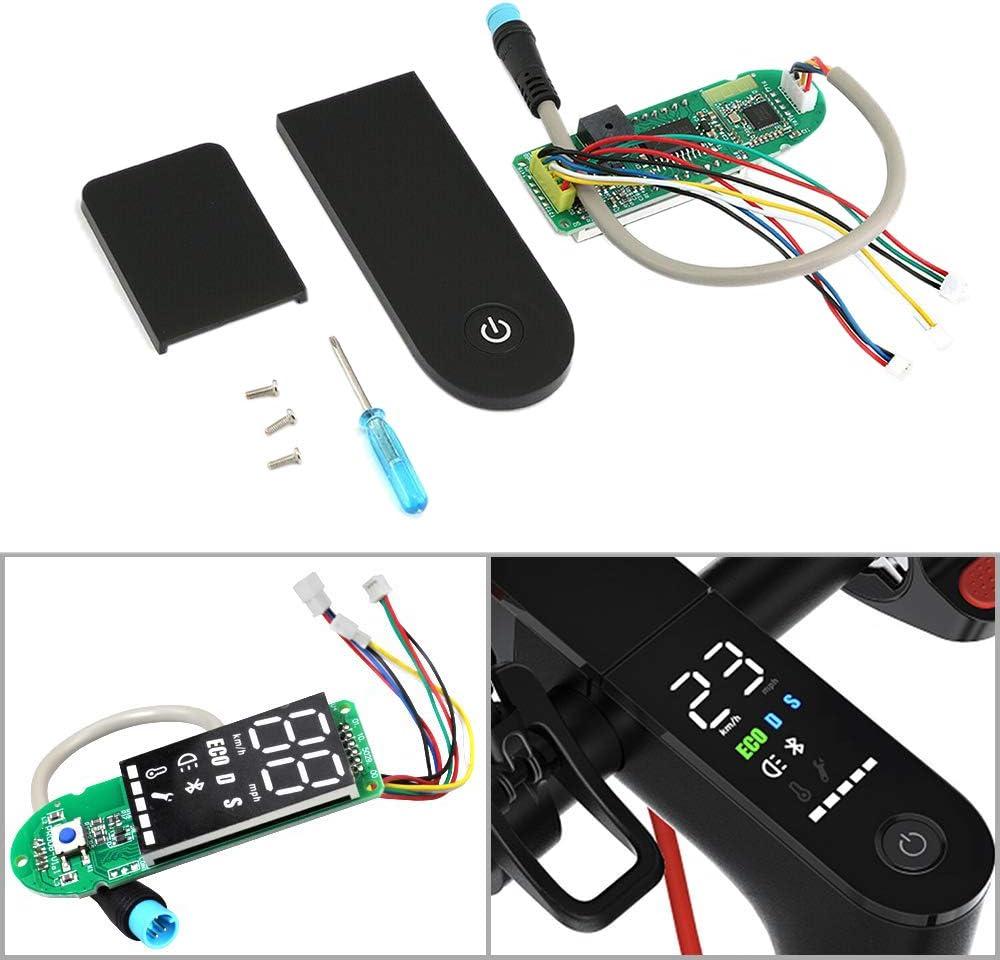 Mifive Cruscotto per Scooter Elettrico con Copertura dello Schermo Aggiornamento del Display del Circuito Interruttore del Circuito Accessori per Scooter per M365