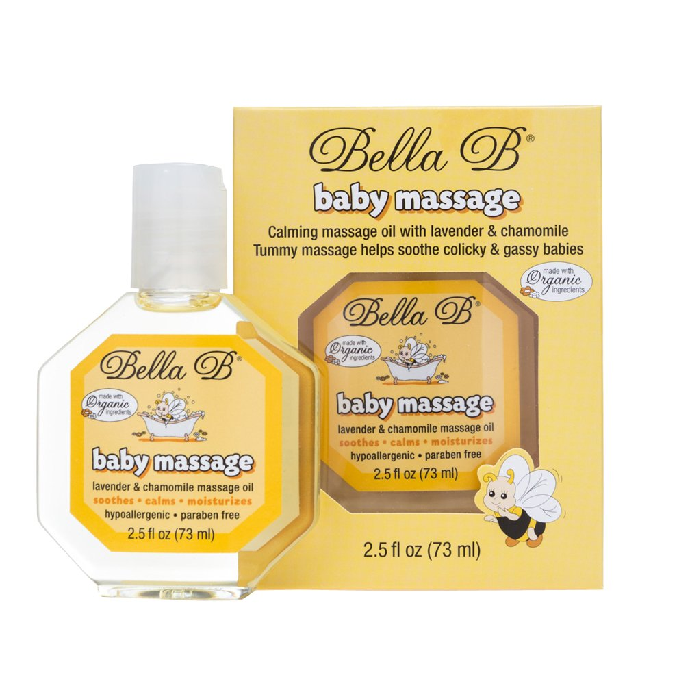 Bella B Baby Massage Oil BB22418