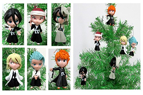 Anime BLEACH 6 Piece Christmas Tree Ornament Set