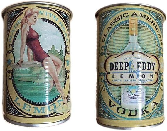 Deep Eddy Vodka Lemon Tin Cups (Set of 2)