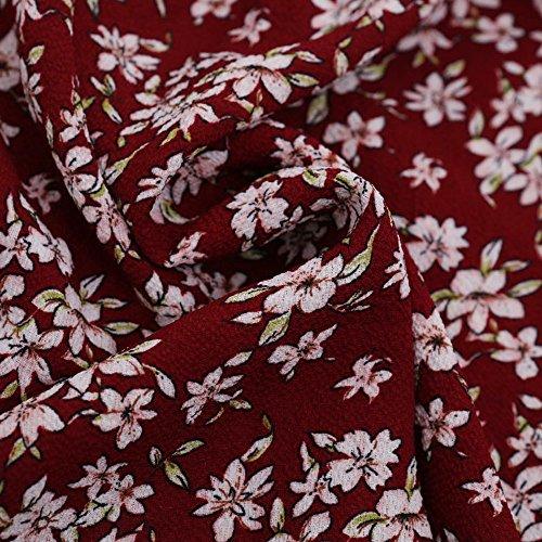 Bustier Longue Beach lgante Plage Femme Courte Manches Sexy Robe Mini Ete Floral Boho Jupe Femme Chic Robe Imprim Robe Robe Rouge Femme Longues Yusealia Mini 6wTqEY
