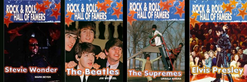 Rock & Roll Hall of Famers Set of Four
