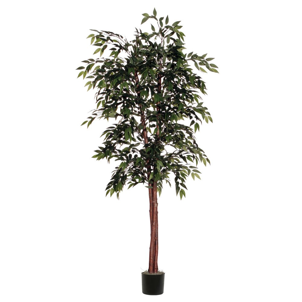 Vickerman TDX1460-07 Everyday Smilax Tree, Green, 6'