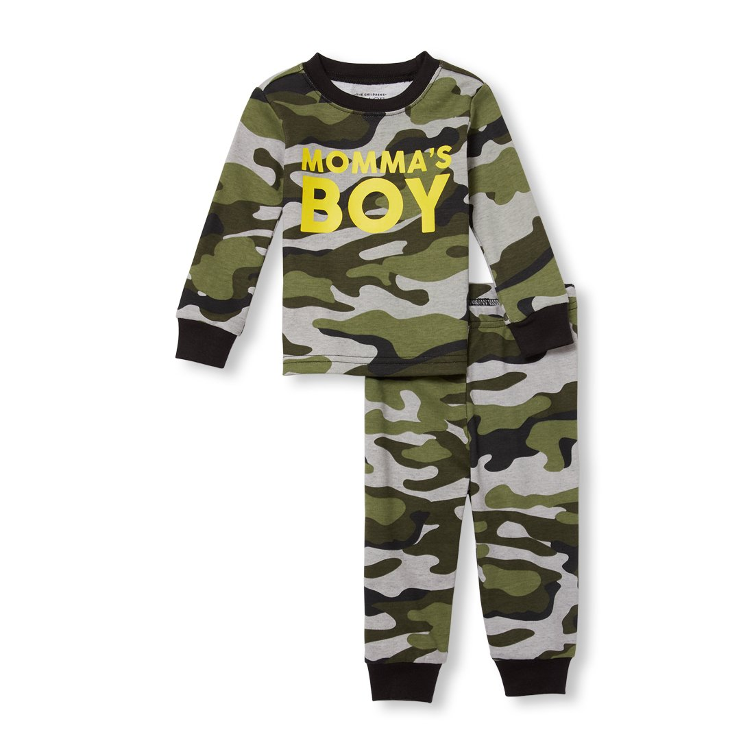 The Children's Place Baby Boys 2 Piece Long Sleeve Pajama Set The Children' s Place
