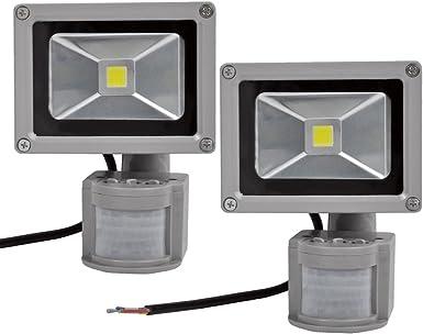 Leetop 50W 30W 10W Blanco Frío LED Foco Proyector Luz, Foco ...