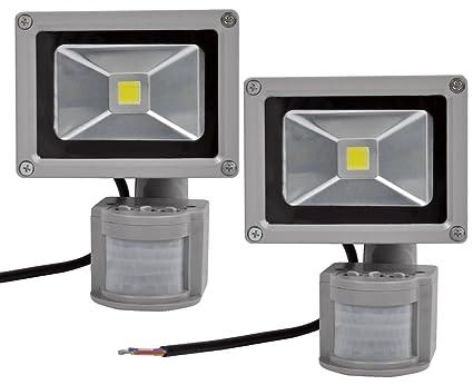 Leetop 50W 30W 10W Blanco Frío LED Foco Proyector Luz, Foco proyector con Iluminación LED