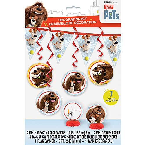 Price comparison product image The Secret Life of Pets Party Decorating Kit, 7pc