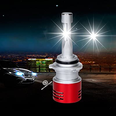 Markcars 4200LM Super Bright Cool White 6000K 30W H1 LED Car Headlight Bulbs All-in-One Conversion Kit Low Beam Fog Light Bulbs Seoul Chips Car Driving Lamps Replacement 2 Year Warranty: Automotive
