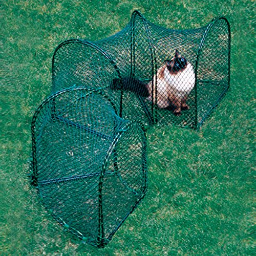 Kittywalk Curves Outdoor Play Enclosure by Kittywalk (Image #1)